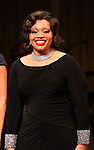 Carmen Ruby Floyd during the Curtain Call for Encores! 'Cotton Club Parade' at City Center in New York City on 11/17/2012