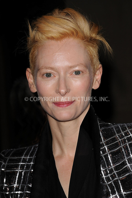 WWW.ACEPIXS.COM . . . . . .November 28, 2011, New York City....Tilda Swinton attends IFP's 21st annual Gotham Independent Film awards at Cipriani, Wall Street on November 28, 2011 in New York City......Please byline: KRISTIN CALLAHAN - ACEPIXS.COM.. . . . . . ..Ace Pictures, Inc: ..tel: (212) 243 8787 or (646) 769 0430..e-mail: info@acepixs.com..web: http://www.acepixs.com .