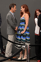"""LOS ANGELES - AUG 2:  Eric McCormack, Debra Messing at the """"Will & Grace"""" Start of Production Kick Off Event at the Universal Studios on August 2, 2017 in Universal City, CA"""