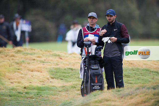 Kyle Stanley (USA) during the second day of the World cup of Golf, The Metropolitan Golf Club, The Metropolitan Golf Club, Victoria, Australia. 23/11/2018<br /> Picture: Golffile   Anthony Powter<br /> <br /> <br /> All photo usage must carry mandatory copyright credit (© Golffile   Anthony Powter)