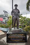 Fleet Admiral Chester W. Nimitz USN Statue, Pearl Harbor
