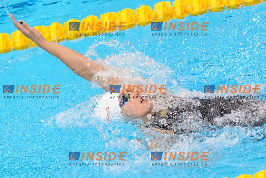 Katinka HOSSZU HUN <br /> 200m Medley Women <br /> London, Queen Elizabeth II Olympic Park Pool <br /> LEN 2016 European Aquatics Elite Championships <br /> Swimming<br /> Day 10 18-05-2016<br /> Photo Andrea Staccioli/Deepbluemedia/Insidefoto