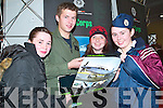 UP IN THE AIR: Student Mary Ita OKeeffe from St. Josephs Secondary School in Abbeyfeale met with Lt. Alan Bray from the Air Corps based in Baldonnell. Also pictured were students Ide Curtin who is looking forward to a career in forensics and Mary OKeeffe the Air Corps..