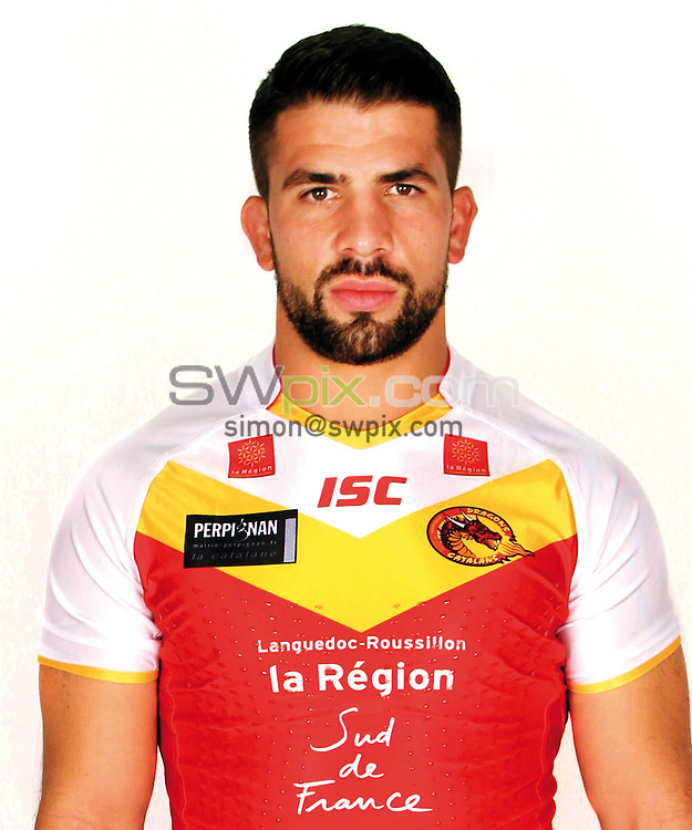 Picture by Catalans Dragons - 16/01/2014 - Rugby League - Super League - Catalans Dragons Media Day - Gilbert Brutus Stadium, Perpignan, France - MICKAEL SIMON