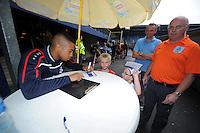 VOETBAL: ABE LENSTRA STADION: HEERENVEEN: 05-07-2014, Open dag SC Heerenveen Pele van Anholt, ©foto Martin de Jong