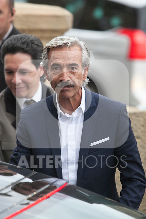 Imanol Arias arrives to Maria Cristina hotel during 63rd Donostia Zinemaldia (San Sebastian International Film Festival) in San Sebastian, Spain. September 21, 2015. (ALTERPHOTOS/Victor Blanco)