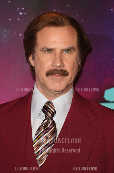 Ron Burgundy arriving at the MTV EMA awards, Amsterdam, Netherlands. 10/11/20013 Picture by: Henry Harris / Featureflash