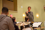 Masterclass with Jazz drummer Tommy Igoe featuring Ole Miss students.  Photo by Kevin Bain/University Communications Photography