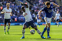 Serge Aurier of Spurs during the Premier League match between Leicester City and Tottenham Hotspur at the King Power Stadium, Leicester, England on 21 September 2019. Photo by James  Gill / PRiME Media Images.