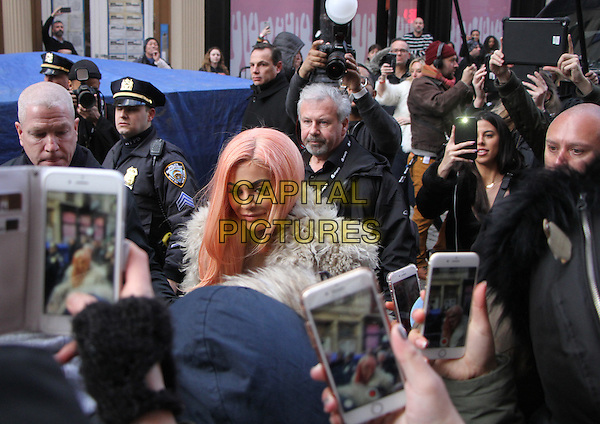 NEW YORK, NY February  13, 2017:Kylie Jenner at her Pop-Up Store Kylie   on Mercer St in New York . February 13, 2017. <br /> CAP/MPI/RW<br /> &copy;RW/MPI/Capital Pictures
