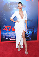 "12 June 2017 - Westwood, California - Kara del Toro. ""47 Meters Down"" Los Angeles Premiere held at Regency Village Theatre in Westwood. Photo Credit: Birdie Thompson/AdMedia"