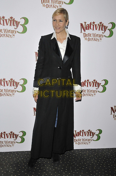 LONDON, ENGLAND - NOVEMBER 02: Tania Bryer attends the &quot;Nativity 3: Dude, Where's My Donkey&quot; UK film premiere, Vue West End cinema, Leicester Square, on Sunday November 02, 2014 in London, England, UK. <br /> CAP/CAN<br /> &copy;Can Nguyen/Capital Pictures