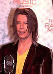 David Bowie 1999  Radio Music Awards