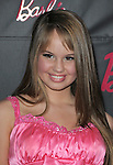 Debby Ryan at Barbie's 50th Birthday Party at The Real Barbie Dreamhouse in Malibu, California on March 09,2009                                                                     Copyright 2009 RockinExposures