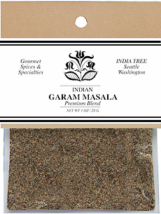 20552 Garam Masala, Caravan 1 oz, India Tree Storefront