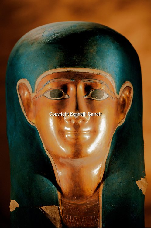 Gilded mummy mask, Ptolemaic Period