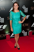 Natalie Pinkham arriving for the F1 Party 2014, The Victoria And Albert Museum, London. 02/07/2014 Picture by: Alexandra Glen / Featureflash