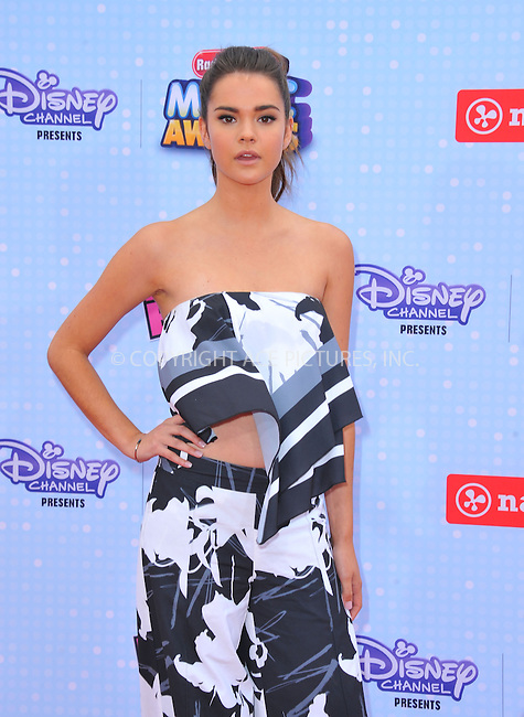 WWW.ACEPIXS.COM<br /> <br /> April 25 2015, LA<br /> <br /> Maia Mitchell arriving at the 2015 Radio Disney Music Awards at Nokia Theatre L.A. Live on April 25, 2015 in Los Angeles, California.<br /> <br /> By Line: Peter West/ACE Pictures<br /> <br /> <br /> ACE Pictures, Inc.<br /> tel: 646 769 0430<br /> Email: info@acepixs.com<br /> www.acepixs.com