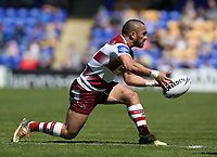 Wigan Warriors' Thomas Leuluai <br /> <br /> Photographer Stephen White/CameraSport<br /> <br /> Rugby League - Coral Challenge Cup Sixth Round - Warrington Wolves v Wigan Warriors - Sunday 12th May 2019 - Halliwell Jones Stadium - Warrington<br /> <br /> World Copyright © 2019 CameraSport. All rights reserved. 43 Linden Ave. Countesthorpe. Leicester. England. LE8 5PG - Tel: +44 (0) 116 277 4147 - admin@camerasport.com - www.camerasport.com