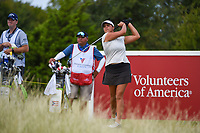 Maria Torres (PRI) watches her tee shot on 10 during the round 2 of the Volunteers of America Texas Classic, the Old American Golf Club, The Colony, Texas, USA. 10/4/2019.<br /> Picture: Golffile | Ken Murray<br /> <br /> <br /> All photo usage must carry mandatory copyright credit (© Golffile | Ken Murray)