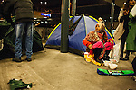 Kileti Train Station -- Migration Aid Migrant Encampment -- September 10, 2015