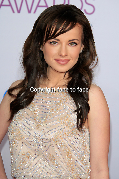 Ashley Rickards attending the 34th Annual People's Choice Awards at the Nokia Theatre in Los Angeles, California, January 9, 2013...Credit: Martin Smith/face to face