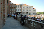 Reggia di Venaria Reale, concerto di Settembre musica 2006..A concert in the gardens of Venaria Reale, residence of the Royal House of Savoy..Ph. Marco Saroldi/Pho-to.it