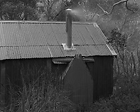 One of the Dobson's Huts in Mt Field NP.