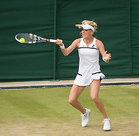 Agnieszka Radwanska<br /> <br /> Tennis - The Championships Wimbledon  - Grand Slam -  All England Lawn Tennis Club  2013 -  Wimbledon - London - United Kingdom -Saturday  29th June  2013. <br /> &copy; AMN Images, 8 Cedar Court, Somerset Road, London, SW19 5HU<br /> Tel - +44 7843383012<br /> mfrey@advantagemedianet.com<br /> www.amnimages.photoshelter.com<br /> www.advantagemedianet.com<br /> www.tennishead.net