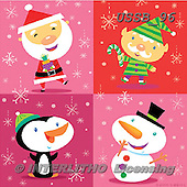 Sarah, CHRISTMAS ANIMALS, WEIHNACHTEN TIERE, NAVIDAD ANIMALES, paintings+++++CH-04-A-2,USSB96,#xa# ,penguins ,napkins