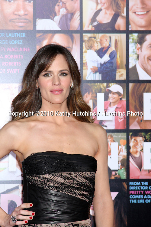 Jennifer Garner.arrivng at the Valentine's Day World Premiere.Grauman's Chinese Theater.Los Angeles, CA.February 8, 2010.©2010 Kathy Hutchins / Hutchins Photo....