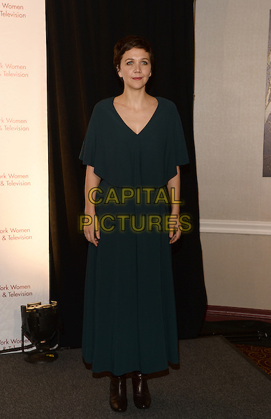 NEW YORK, NY - DECEMBER 11: Maggie Gyllenhaal pictured at the  34th Annual New York Women In Film And Television Muse Awards at New York Hilton Midtown on December 11, 2014 in New York City. <br /> CAP/MPI/RW<br /> &copy;RW/ MediaPunch/Capital Pictures