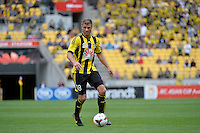Benjamin Sigmund during the A League - Wellington Phoenix v Adelaide United, Wellington, New Zealand on Sunday 30 March 2014. <br /> Photo by Masanori Udagawa. <br /> www.photowellington.photoshelter.com.