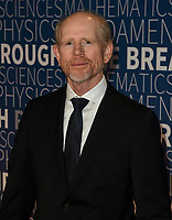 MOUNTAIN VIEW, CA - NOVEMBER 04: Ron Howard attends the 2019 Breakthrough Prize at NASA Ames Research Center on November 4, 2018 in Mountain View, California. <br /> CAP/MPI/SPA<br /> &copy;SPA/MPI/Capital Pictures