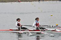 090 MarlowRC W.MasA.2x..Marlow Regatta Committee Thames Valley Trial Head. 1900m at Dorney Lake/Eton College Rowing Centre, Dorney, Buckinghamshire. Sunday 29 January 2012. Run over three divisions.