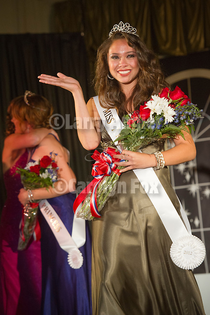 74th Amador County Fair, Plymouth, Calif...Miss Amador Scholarship Competition--Miss Amador 2012 Cecily Swason