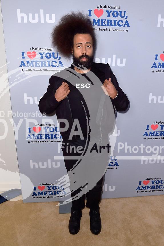 Reggie Watts beim Fototermin zur Hulu TV-Serie 'I Love You, America' im Chateau Marmont Hotel. Los Angeles, 11.10.2017