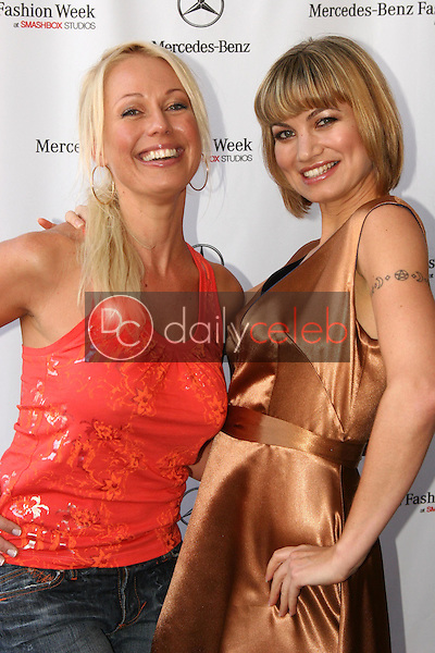 Fiona Horne and Rena Riffel<br />