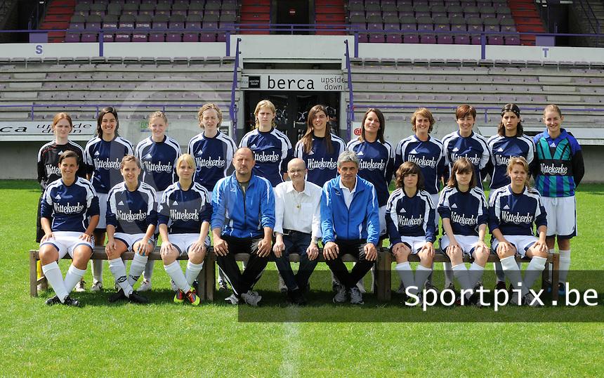 VV Rassing Harelbeke : ploegfoto seizoen 2011-2012.foto VDB / Bart Vandenbroucke