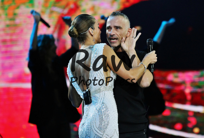 Eros Ramazzotti ha actuado durante el Festival Vi&ntilde;a del Mar.<br /> <br /> Foto&copy;2016: Rene Mendez/The Grosby Group<br /> <br /> Vi&ntilde;a del Mar, Feb 24, 2016<br /> <br /> Eros Ramazzotti performing in Vi&ntilde;a del Mar.