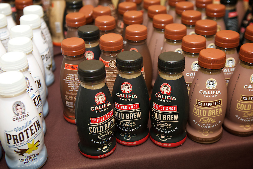 BROOKLYN, NY - April 8, 2016: The fifth annual Food + Enterprise Summit took place at the former Pfizer plant in Bedford-Stuyvesant.<br /> <br /> CREDIT: Clay Williams.<br /> <br /> &copy; Clay Williams / claywilliamsphoto.com