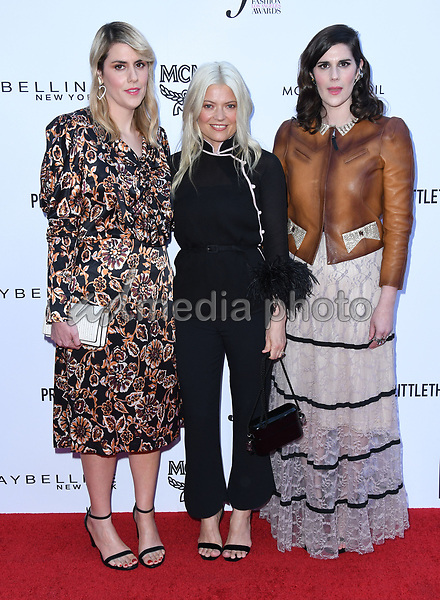 08 April 2018 - Beverly Hills, California - Kate Mulleavy, Kate Young, Laura Mulleavy. The Daily Front Row's 4th Annual Fashion Los Angeles Awards held at The Beverly Hills Hotel. Photo Credit: Birdie Thompson/AdMedia