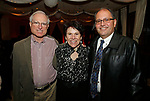 Cheshire, CT- 111117MK15 (from left) Dave and Ruth Sack with David Arai  gathered during the Ball and Socket Arts launch of their Bricks and Glass $2 million capital campaign at the Waverly Inn in Cheshire on Saturday night Michael Kabelka / Republican-American