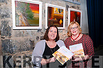"Launch : Pictured at the launch of ""Splinters"" exhibition of paintings & poetry book were poet Mary Kennelly & artist Brenda Fitzmautice at St John's Arts Centre, Listowel on Saturday night last."