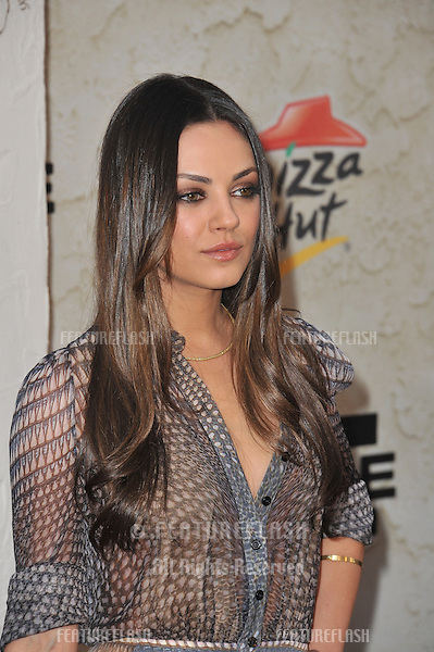 Mila Kunis at Spike TV's Guys Choice Awards 2011 at Sony Studios, Culver City, CA..June 4, 2011  Los Angeles, CA.Picture: Paul Smith / Featureflash