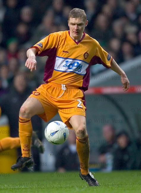 Martyn Corrigan, Motherwell.stock season 2004-2005.pic willie vass