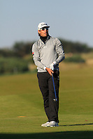 Rafa Cabrera-Bello (ESP) on the 11th fairway during Round 2 of the 2015 Alfred Dunhill Links Championship at Kingsbarns in Scotland on 2/10/15.<br /> Picture: Thos Caffrey | Golffile