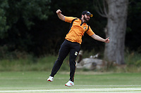 U Sultan of Gidea Park celebrates the run out of M Chowdhury during Gidea Park and Romford CC vs Harold Wood CC, Shepherd Neame Essex League Cricket at Gidea Park Sports Ground on 6th July 2019