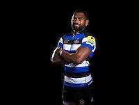 Niko Matawalu poses for a portrait at a Bath Rugby photocall. Bath Rugby Media Day on August 24, 2016 at Farleigh House in Bath, England. Photo by: Rogan Thomson / JMP / Onside Images