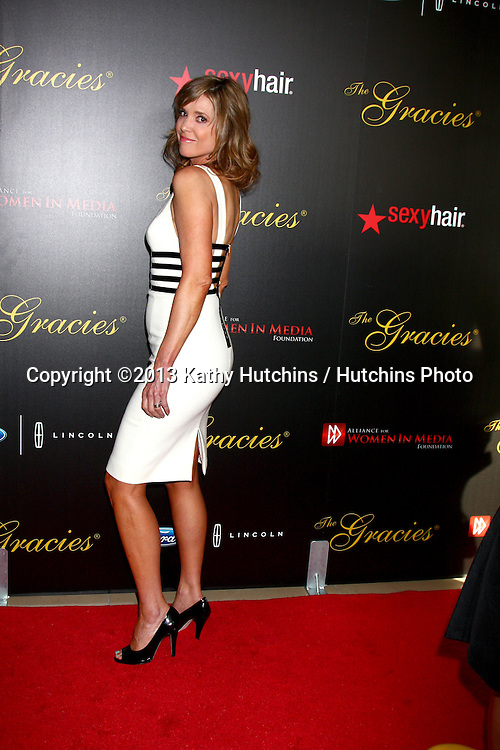 LOS ANGELES - MAY 21:  Hannah Storm arrives at the 38th Annual Gracie Awards Gala at the Beverly Hilton Hotel on May 21, 2013 in Beverly Hills, CA